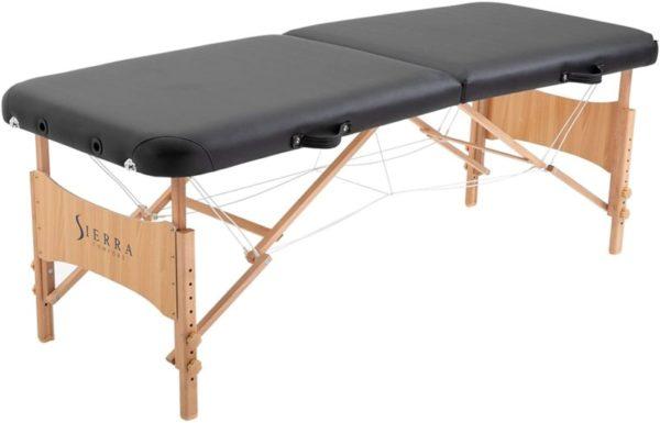 1. SierraComfort Basic Portable Massage Table, Black