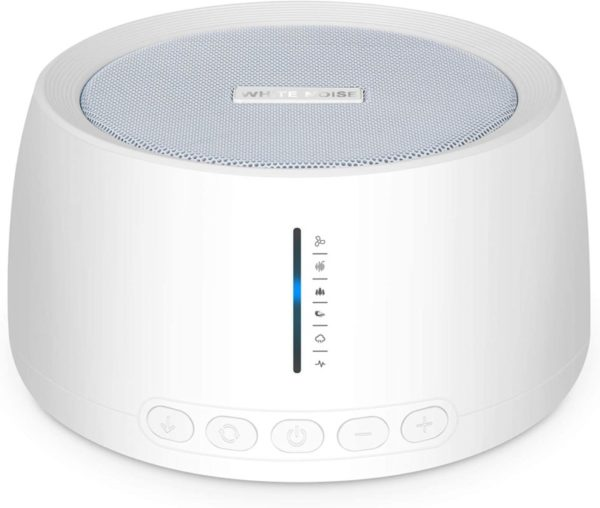 10. Portable White Noise Machine, Compact Sleep Sound Therapy with Earphone Jack