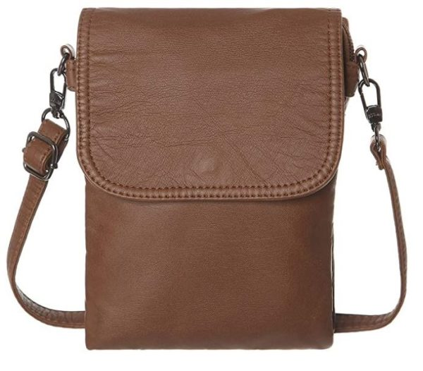 11. AOCINA Small Crossbody Cell Phone Purse Wallet Card Slots Small Crossbody Phone Bags for Women