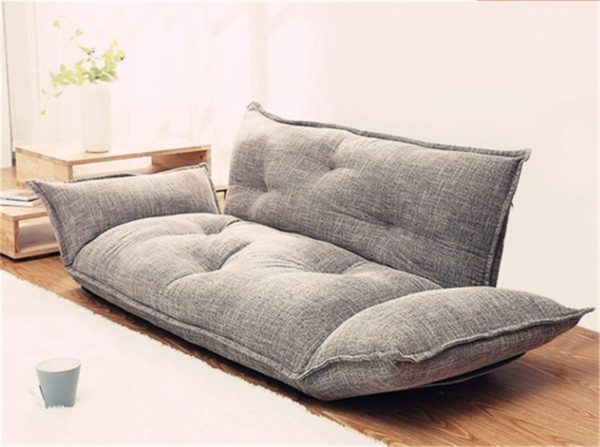 11. Modern Foldable Floor Couch Sofa Lazy Bed 5 Position