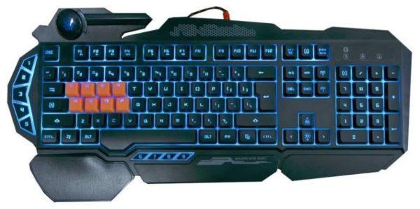12. Bloody B318 8-Key Light Strike (LK) Semi Optical Mechanical Gaming Keyboard