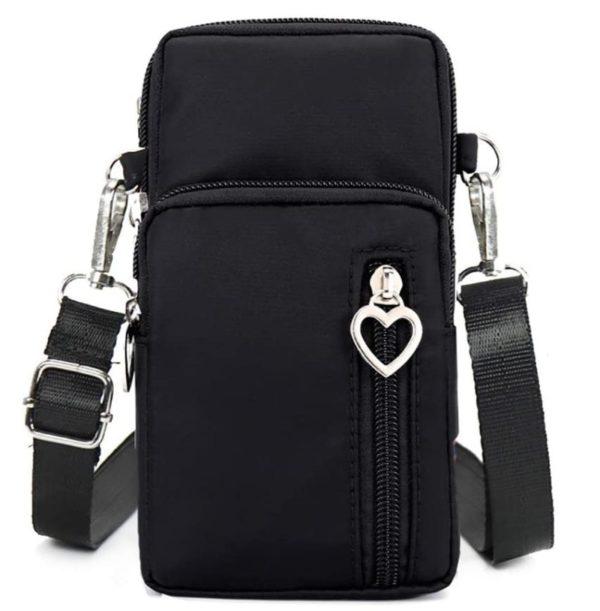 12. Horscrite Phone Bag Purse Wallet Crossbody Bag Lightweight Roomy Pockets Smartphone Sports Armband Bag For Men and Women