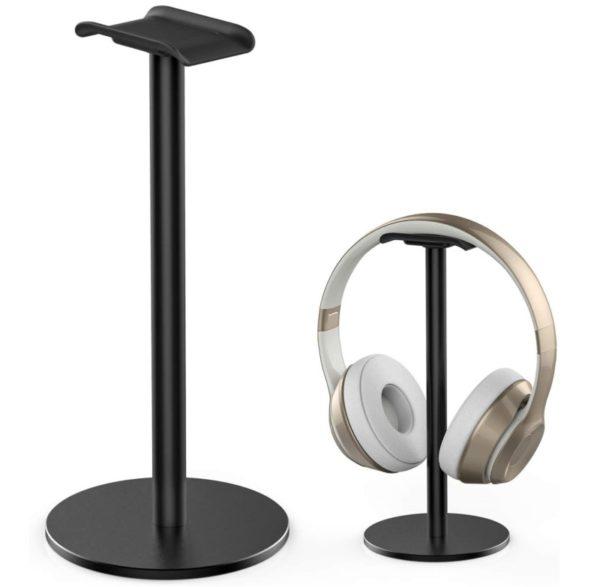 13. Full Aluminum Headphone Stand Headset Holder Gaming Headset Holder