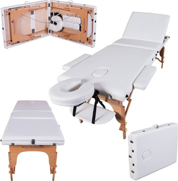 13. Massage Imperial® Deluxe Lightweight Ivory White