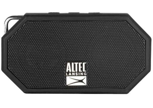 2. Altec Lansing IMW257-BLK Mini H2O Wireless Bluetooth Waterproof Speaker