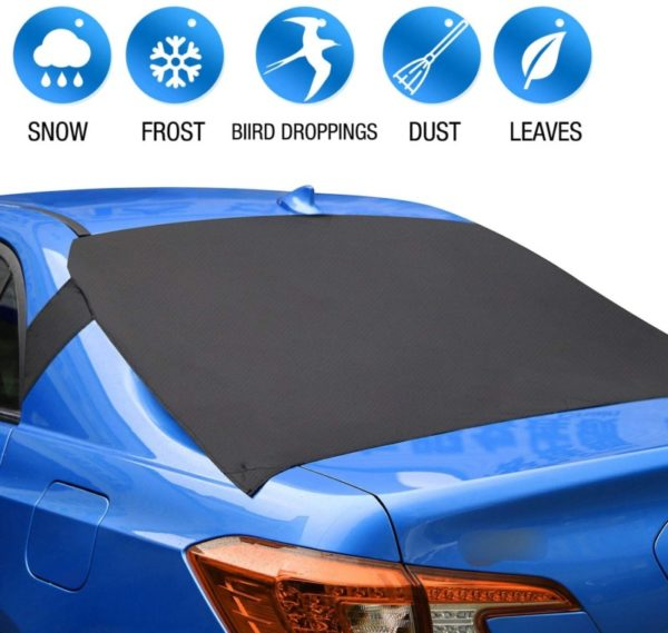 3. ALTITACO Car Rear Windshield Snow Cover, Rear Windscreen Snow Ice Cover Protector