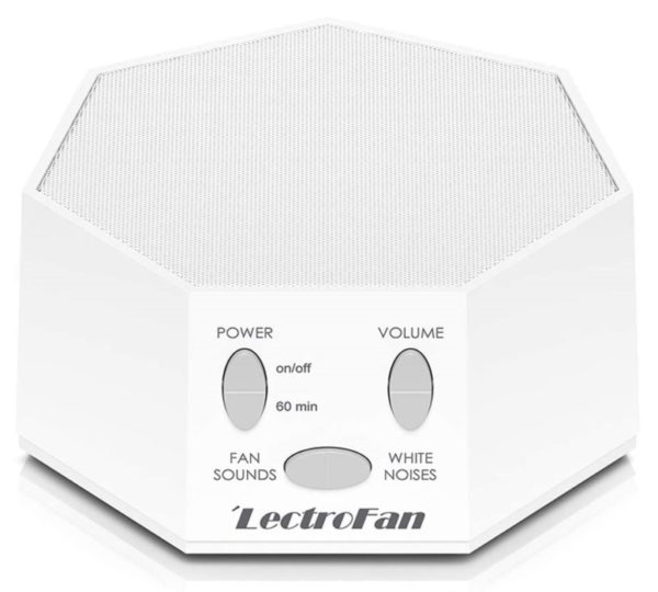 3. Adaptive Sound Technologies LectroFan High Fidelity White Noise Sound Machine