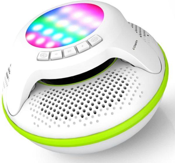 3. COWIN Swimmer IPX7 Floating Waterproof Bluetooth Speakers Portable Wireless Shower Speaker