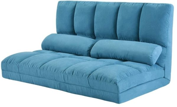 3. Harper&Bright designs PP036317 Double Chaise Lounge Sofa Chair Floor Couch