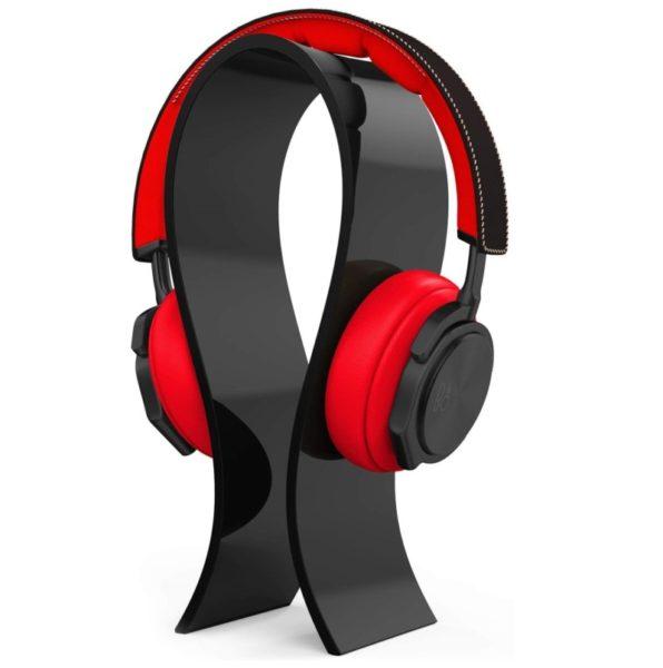 4. AmoVee Acrylic Headphone Stand Gaming Headset