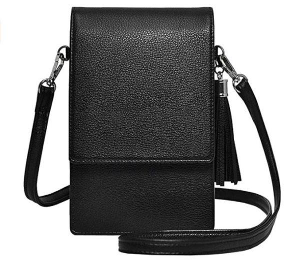4. Small Crossbody Bag Cell Phone Purse Wallet Lightweight Roomy Travel Passport Bag Crossbody Handbags for Women