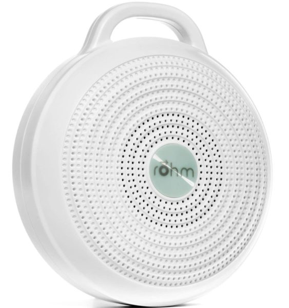 4. Yogasleep Rohm Portable White Noise Machine for Travel