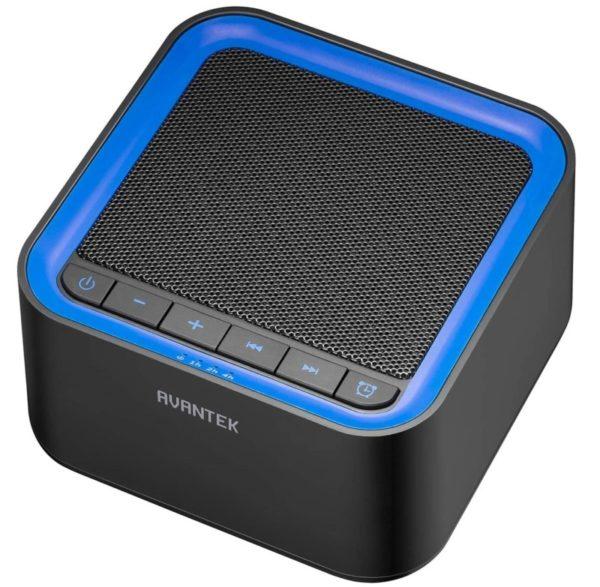 5. AVANTEK White Noise Sound Machine for Sleeping