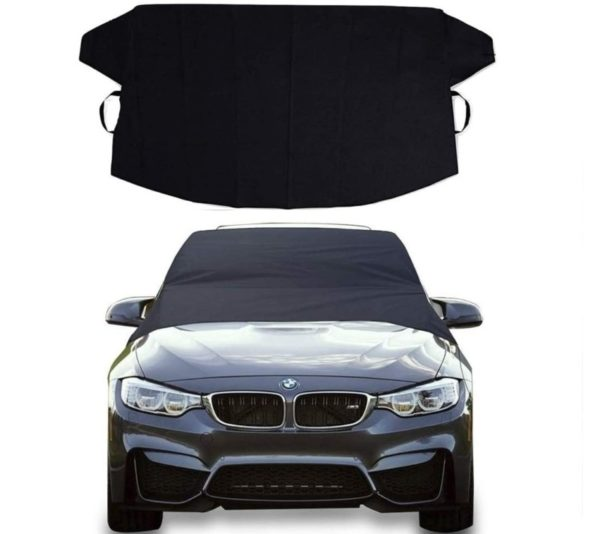 5. Car Windshield Cover for Ice and Snow -Wiper Protector -Waterproof Car Windshield Forst Cover for SUV