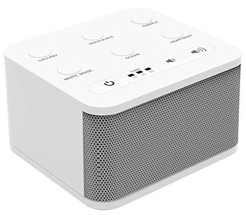 6. Big Red Rooster Baby White Noise Machine