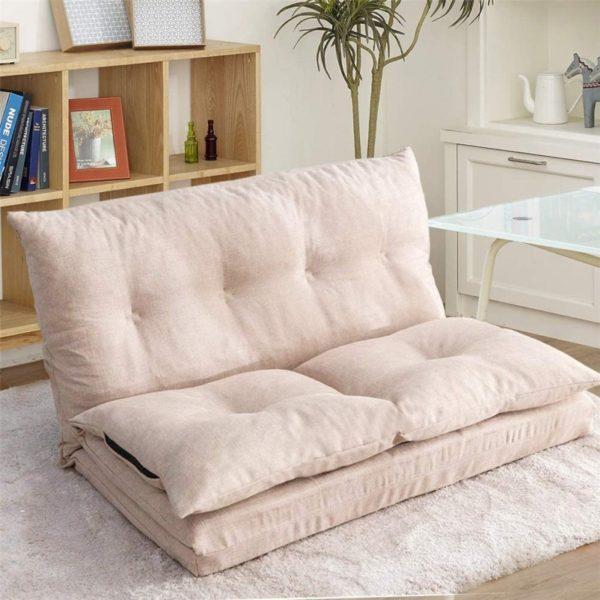 6. Family Life Floor Couch Foldable Floor Chair Folding Lazy