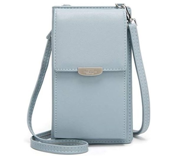 6. Kukoo Small Crossbody Bag Cell Phone Purse Wallet with Credit Card Slots for Women
