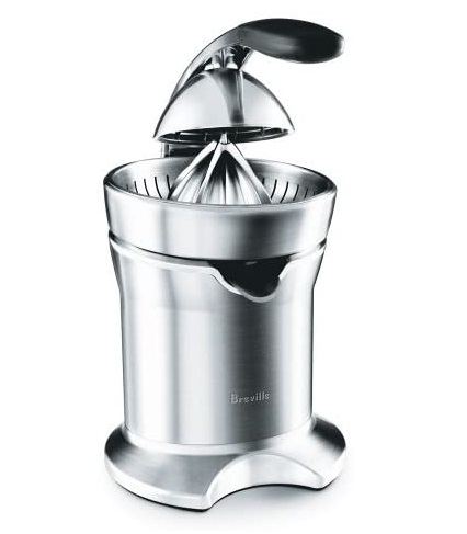 7. Breville 800CPXL Die-Cast Stainless-Steel Motorized Citrus Press