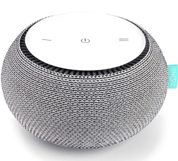 7. SNOOZ White Noise Sound Machine - Real Fan Inside for Non-Looping White Noise Sounds