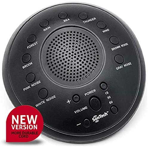 8. SonTech - White Noise Sound Machine - 10 Natural Soothing Sound Tracks Home