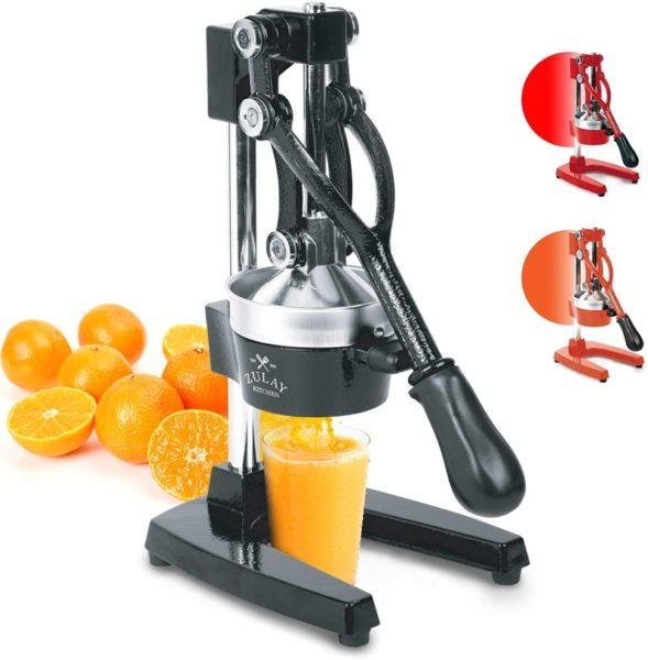8. Zulay Professional Citrus Juicer - Manual Citrus Press and Orange Squeezer