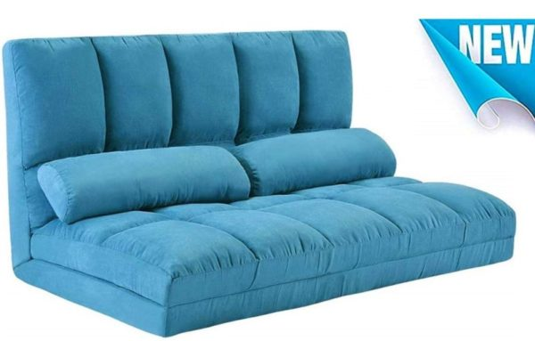 9. Foldable Floor Couch Lounge, Norcia Adjustable