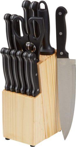 AmazonBasics Kitchen Knife Set