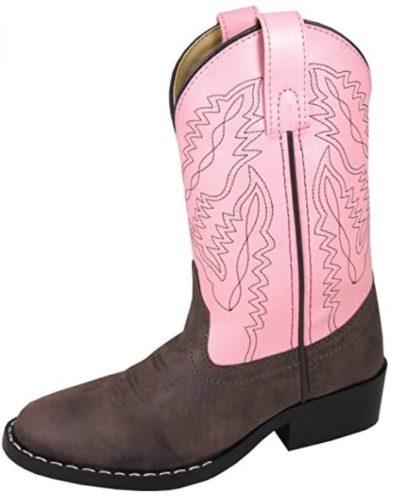 Smoky Mountain Toddler-Boys' Hopalong Western Boot Round Toe - 3234T
