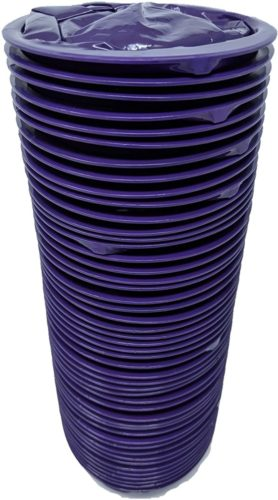 iSick Vomit Bags 1000ml, 48pk, Dark Purple, Premium Quality, Morning Sickness, Kids, Taxis Drivers, Car Motion Sickness, Portable, No Mess, Medical Grade