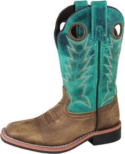 Smoky Mountain Boys' Jesse Western Boot Square Toe