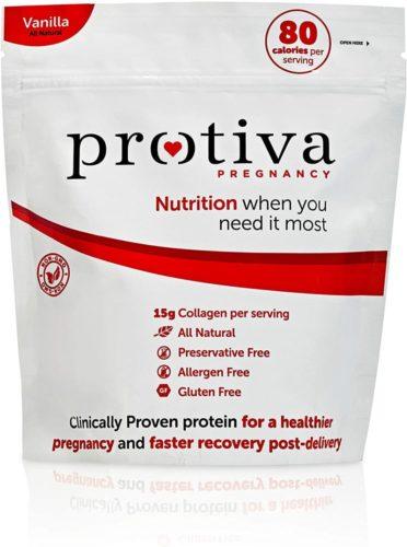 Protiva Pregnancy- Prenatal Protein Powder, OBGYN & Clinically Approved, All Natural & Low Calorie, Vanilla Flavor, 1 lb