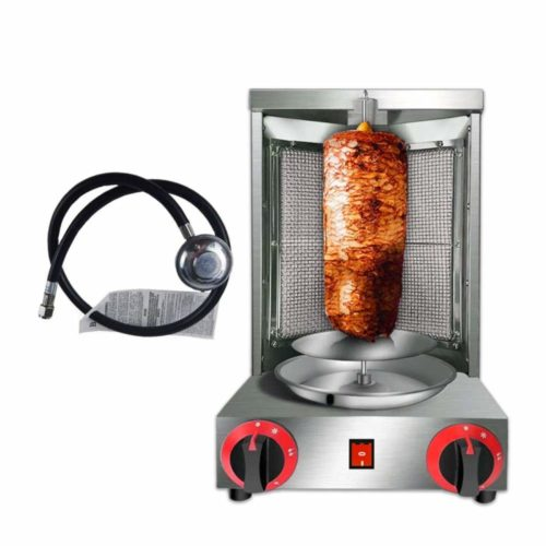 Zz Pro Shawarma Doner Kebab Machine Gyro Grill with 2 Burner Vertical Broiler for Commercial home Kitchen TOP 5 BEST GYRO MACHINES IN 2020 REVIEWS