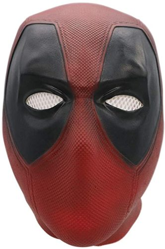 Bulex Deadpool Mask Replica Full Head Helmet Cosplay Costume for Adult