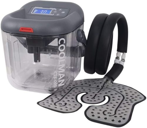 COOLMAN-Cold-Therapy-System-Cryotherapy-Machine-Portable-Continuous-Ice-Pack-Flexible-Universal-Pad-for-Knee-Shoulder-Ankle-Cervical-Back-Leg-and-Hip