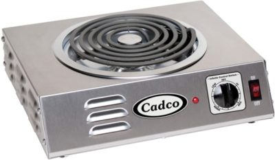Cadco CSR-3T Countertop Hot Plate - Countertop Plate Electric Stoves