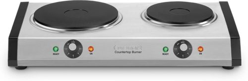 Cuisinart CB-60 Double Burner - Countertop Plate Electric Stoves