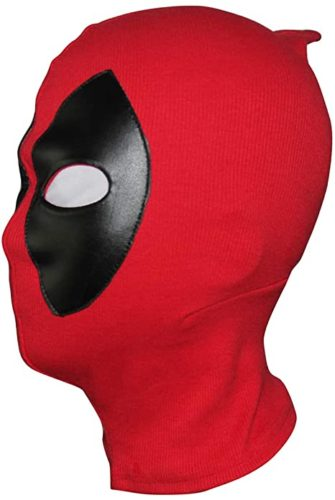 Deadpool Mask Costume Halloween mask Hood Cotton Spandex Leather for Kids Adult