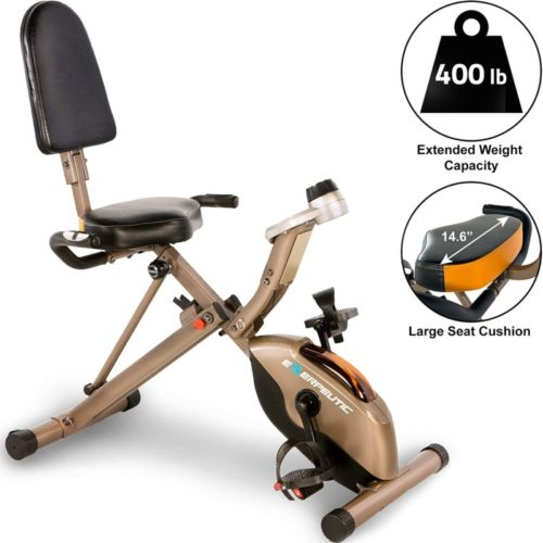 Exerpeutic Gold 525XLR Exercise Bike