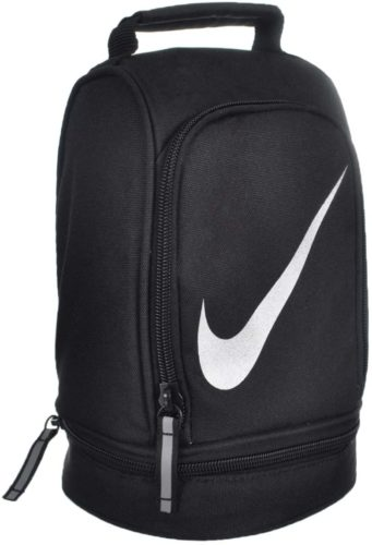 Nike Paneled Upright Insulated Lunchbox - Black/Silver, one Size