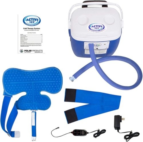 Polar-Products-Active-Ice®-3.0-Shoulder-Pad-Cold-Therapy-System-with-Programmable-Digital-Timer-16-Quart-Cooling-Reservoir