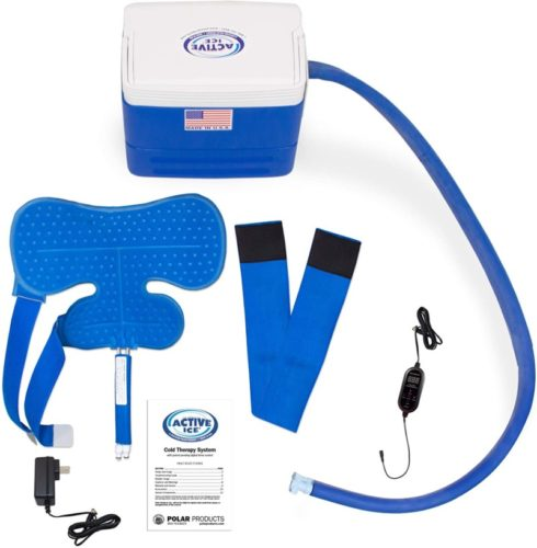 Polar-Products-Active-Ice®-3.0-Shoulder-Pad-Cold-Therapy-System-with-Programmable-Digital-Timer-9-Quart-Cooling-Reservoir