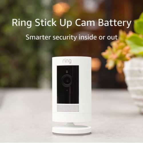 Ring Stick Up Wireless CCTV Camera