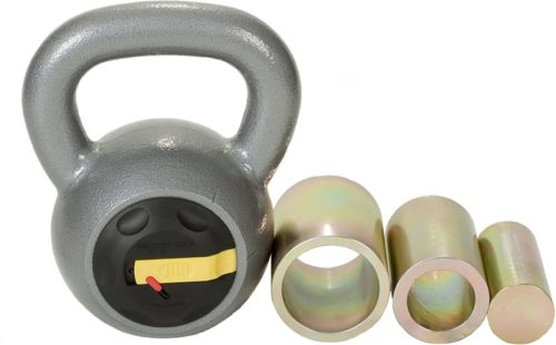 Rocketlok Adjustable Kettlebell, Small Exercise Equipment