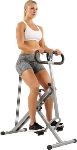 unny Health & Fitness Row-N-Ride Trainer