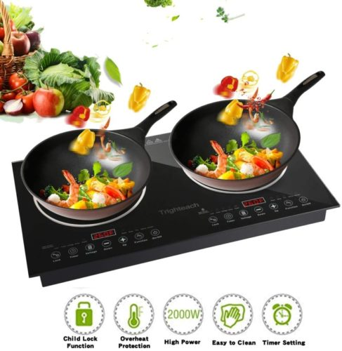 Trighteach 2-burner induction cooktops