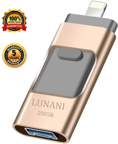 USB-Flash-Drive-for-iPhone_-LUNANI-iPhone-Flash-Drive-256GB-photostick-Mobile-for-iPhone-USB-3.0-iPhone-External-StorageAndroidPC-Photo-iPhone-Picture-StickGold