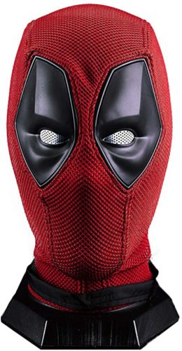 Wade Wilson Mask Superhero DP Helmet Knitted Props Red