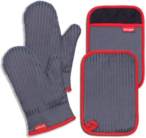#10. Coziselect Cotton Oven Mitts