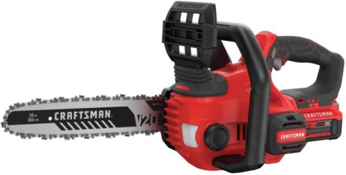 #10. Craftsman Compact Cordless Chainsaw