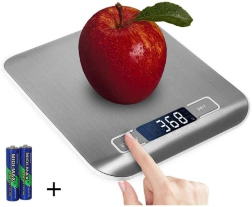 #10. Domini Stainless Steel Kitchen Scale